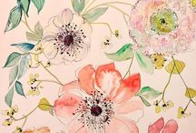 · Floral Pattern · / by Ditte Maigaard Studio .