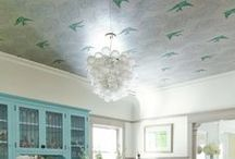 BOLD CEILING TREATMENTS / by Caitlin Brown Interiors