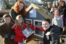 Little Free Library Gallery / We love the Little Free Library concept and are thrilled to have our very own Little Free Library at #KATP in Russell Park, Bedford.