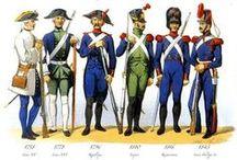 Costume Militaire - Fin 18/19ème siècle