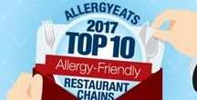 Top Ranked Allergy-Friendly Restaurants / AllergyEats uses feedback from the food allergy community to rank chain restaurants based only on how well they are able to accommodate diners with food allergies. Every year, we take a fresh look at how the chains are performing and select the top rated ones for our annual list.