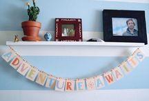 Adventure Awaits! / Up inspired nursery