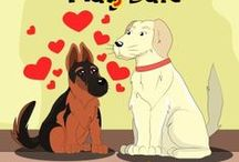The Pup Pup Series by Amy Morford / Follow the adventures of Pup Pup the German Shepherd as he experiences new things with his family.
