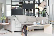 living room / by Rhea Guharoy