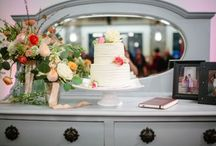 wedding cakes & desserts / Wedding cakes, dessert displays and more!