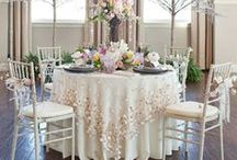 wedding linen loves / by Sara Skinner Scarlet Plan & Design