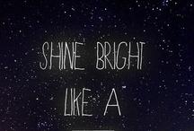 Shine Bright Light A Diamond / Party Board