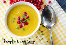 Soup Recipes / Delicious soup recipes to inspire your menu planning.  / by Jo-Lynne Shane