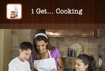 i Get... Cooking / i Get... Cooking Vocabulary and Create Recipe Photo Sequence Books is an application providing photo books for individuals that need understanding thins relative to the kitchen, cooking and making recipes.