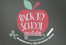 Back to School / Back to school organization, tips, and ways to make the transition just a bit easier. / by Jo-Lynne Shane