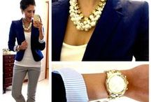 Work Swag / Cute outfit ideas to wear to work. / by Chantal Benoit