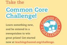 CCSS Challenge  / Check out what other teachers are doing to implement CCSS in their classrooms!  Then, collaborate with teachers like you to generate your own ideas and introduce them in one of your lessons.    #ccsschallenge