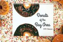 Donut Watercolors / I paint donuts in watercolor. Yep, here's the proof. Visit AprilVWalters.com for more.