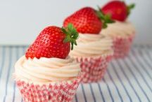 Recipes: Sweet Strawberry / A collection of delicious recipes using strawberries . . . desserts, drinks, main dishes, salad dressing . . . the sky's the limit! / by Jo-Lynne Shane