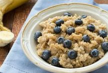 Breakfast ideas / Healthy meals to get your day started. / by Chantal Benoit