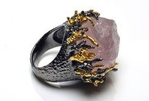 Our Rocklicious Rings / Our new collection of raw cut semi precious stone rings. An amazing finishing touch to an outfit. Available to buy at www.grandala.com