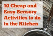 Sensory Play / Great ideas for sensory play activities