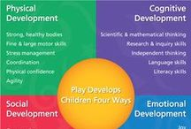 Play Therapy... / The Importance of Play in Promoting Healthy Child Development and Maintaining Strong Parent-Child Bonds (2007), the American Academy of Pediatrics says:  Play is integral to the academic environment. It ensures that the school setting attends to the social and emotional development of children as well as their cognitive development.