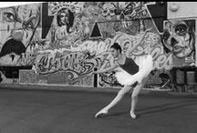 juxtapose / Designing a ballerina in the streets of LA theme party