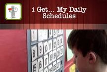 i Get... My Daily Schedules / An app to support visual learners by using the photos books included or create your own books.  Photo books help to recall daily activities and work on calendar concepts.