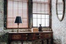 Rustic Decor / Organic textures, secondhand furniture, and the great outdoors. / by The Shade Store