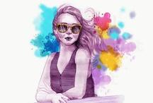 Fashion Illustrations / by Ashley Grace