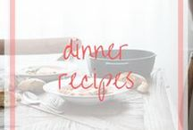 Dinner Recipes / Find some inspiration for a healthy dinner recipe with minimal time and effort.