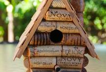 For The Birds! / Bird baths, cages, feeders, houses.