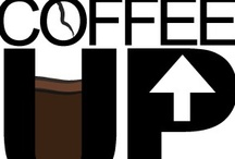 Coffee up! / a beverage made by percolation, infusion, or decoction from the roasted and ground seeds of a coffee plant / by t l s