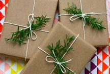Gift Wrap & Packaging Ideas / Gorgeous ideas to wrap presents and packaging that is inspiring / by Deborah - My Life at Playtime