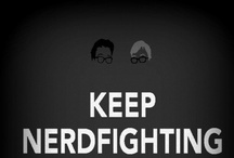 Just Keep Nerdfighting / The Green brothers. John's works of art. / by Jenni Monsterrr
