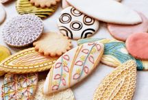 Decorated In Sugar. / I love the intricate designs of decorated cookies. Such delicate handiwork.
