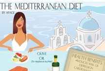Mediterranean Diet & Recipes / The Mediterranean diet is a heart-healthy eating plan combining elements of Mediterranean-style cooking. Listed here are recipes, tips and success stories