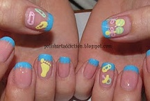 Nailspiration - Baby-Themed Nails