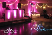 Pink Lighting Design / Images of Something New Entertainment Lighting Design in shades of pink -- from blush and bashful to hot pink -- your perfect hue is sure to be here, somewhere!