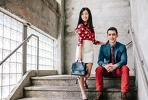 A couple's guide - What to wear for a Portrait Session / Ideas for casual to fancy attire.