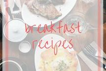Breakfast Recipes / Start the day off right with a balanced breakfast.