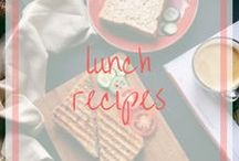 Lunch Recipes / Save money by packing lunch. Find lunch ideas for home and work.