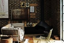 Industrial Meets Rustic / by Brittany Matteson