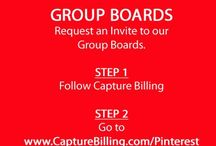Join Pinterest Group Boards / JOIN PINTEREST GROUP BOARDS - Want to join our healthcare group boards or some of our other group boards? It's easy, go to our website at http://www.CaptureBilling.com/Pintetest and tell us what group boards you want to join.