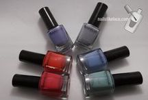 Barielle / Collection swatches of and nail art using Barielle polishes.