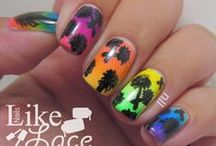 Palm Tree Nails / My palm tree manis.