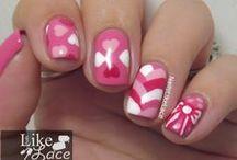 Valentine's Day Nails / My Valentine's Day manis