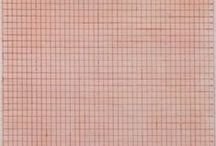 Quiet Abstraction / Agnes Martin was a pioneer of abstract painting. This board pays homage to the artist's legacy.