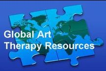 Global Art Therapy Resources / The Art Therapy Alliance community connects with art therapists from all over the world.  Here are some recommended resources and organizational sites to learn more about art therapy from different parts of the globe- Check out the collective list at: http://www.arttherapyalliance.org/GlobalArtTherapyResources.html / by Art Therapy Alliance