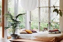 natural home / laid back, pale, a little bohemian.... neutral tones and textures.