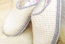 Тапочки, носки / Идеи для вязания носков и тапочек