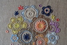 Crochet. Knit. Embroider. Sew. / by Stephanie Gurne