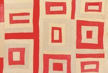 patchwork . MODERN / Free-form, contemporary fabrics, pictorial, abstract and stylized. / by Michelle Brand