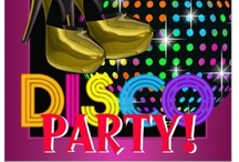 Disco Party Supplies / Ready to groove to the music at your Disco Party?